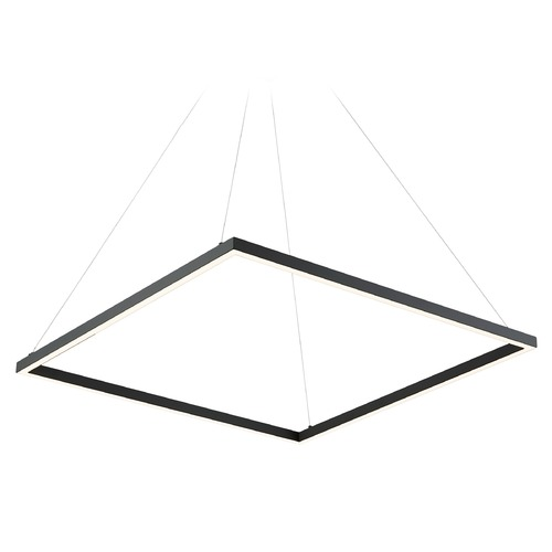 Kuzco Lighting Kuzco Lighting Piazza Black LED Pendant Light PD85132-BK