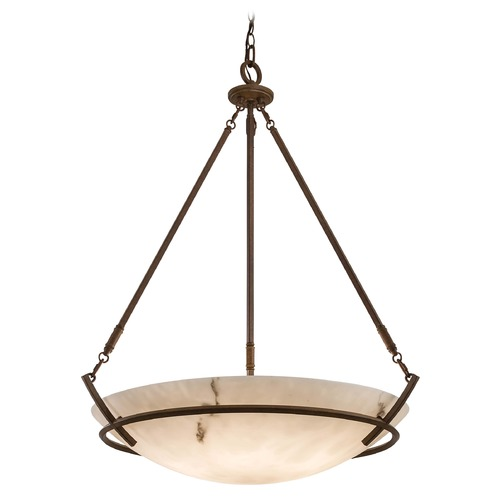 Minka Lavery Pendant with Alabaster Glass 684-14