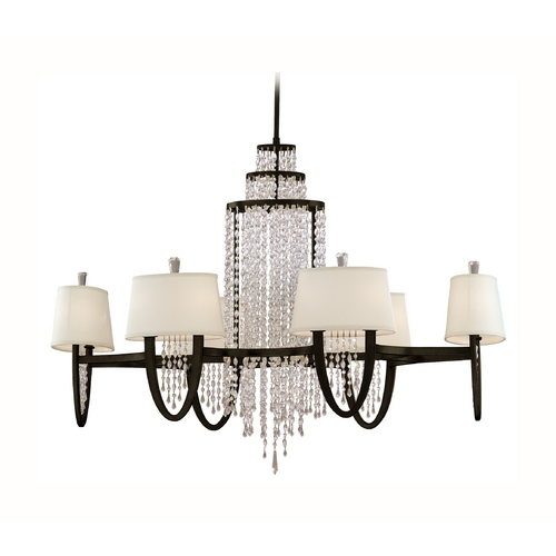 Corbett Lighting Corbett Lighting Viceroy Royal Bronze Chandelier 130-012
