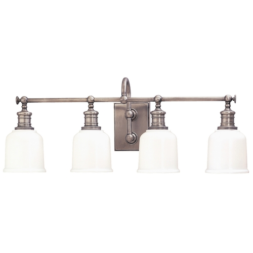 Hudson Valley Lighting Four-Light Bathroom Vanity Light 1974-SN