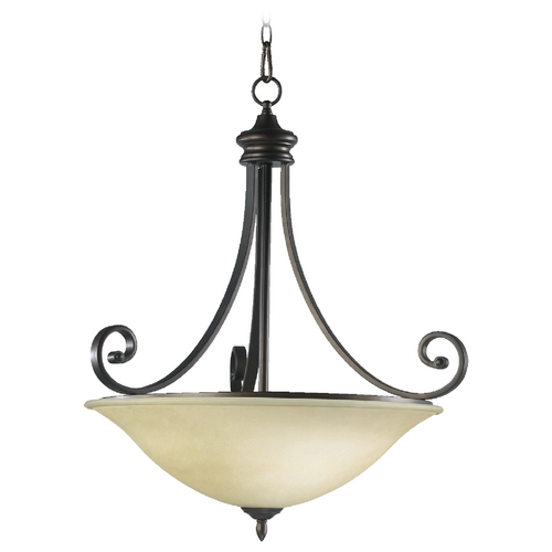 Quorum Lighting Quorum Lighting Bryant Oiled Bronze Pendant Light 8154-4-86