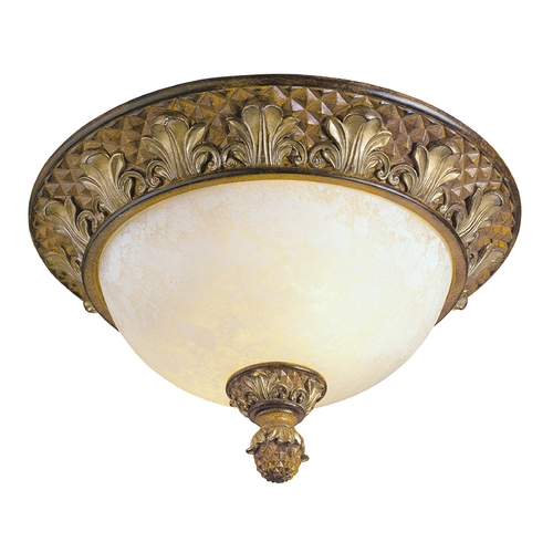 Livex Lighting Livex Lighting Savannah Venetian Patina Flushmount Light 8457-57