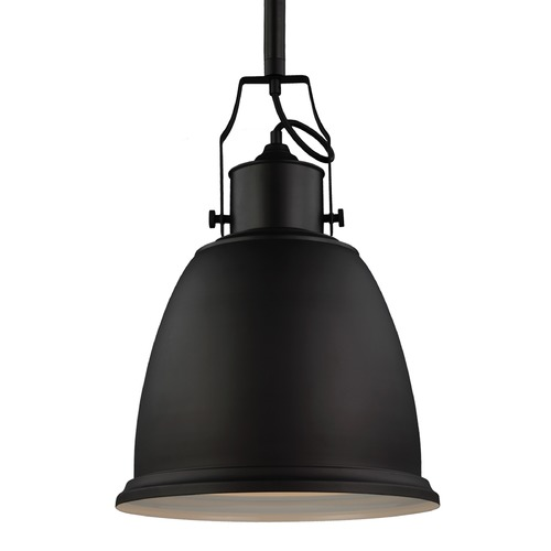 Feiss Lighting Feiss Hobson Oil Rubbed Bronze Pendant Light P1359ORB