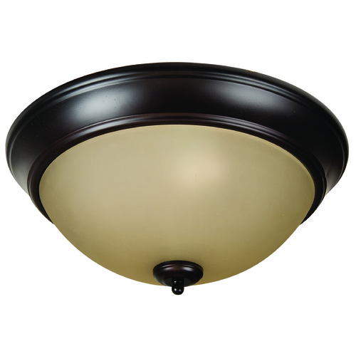 Craftmade Lighting Craftmade Pro Builder Flush Oiled Bronze Flushmount Light XP15OB-3A