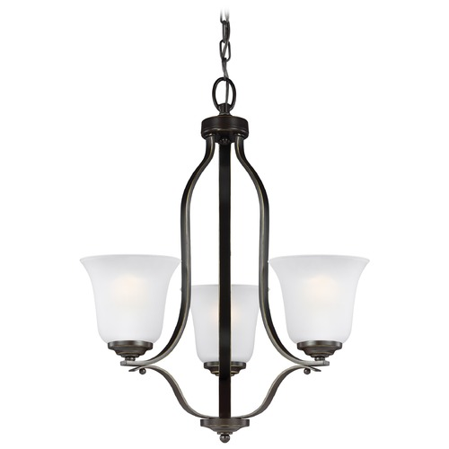 Sea Gull Lighting Sea Gull Lighting Emmons Heirloom Bronze LED Mini-Chandelier 3139003EN3-782