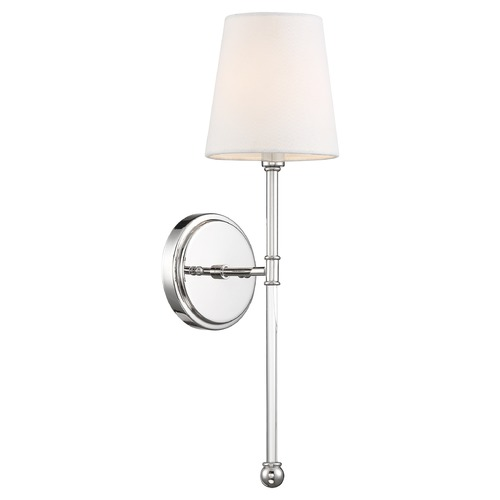 Nuvo Lighting Satco Lighting Olmsted Polished Nickel Sconce 60/6688