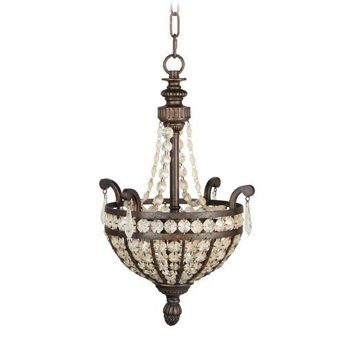 Jeremiah Lighting Jeremiah Cortana Peruvian Bronze Pendant Light 5513PR2