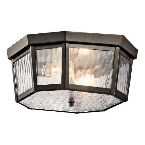 Kichler Lighting Kichler Lighting Rochdale Olde Bronze Close To Ceiling Light 49518OZ
