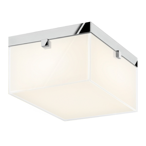 Sonneman Lighting Sonneman Lighting Parallel Polished Chrome LED Flushmount Light 3867.01LED