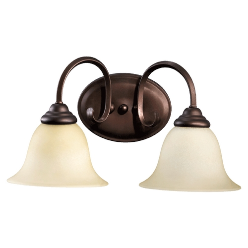 Quorum Lighting Quorum Lighting Spencer Oiled Bronze Bathroom Light 5110-2-86