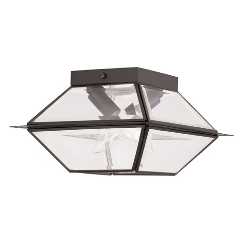 Livex Lighting Livex Lighting Westover Bronze Close To Ceiling Light 2184-07