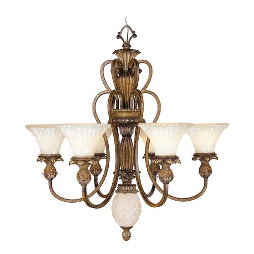 Livex Lighting Livex Lighting Savannah Venetian Patina Chandelier 8456-57