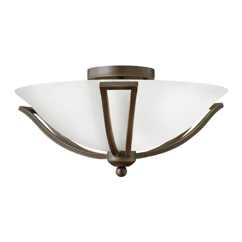 Hinkley Lighting Hinkley Lighting Bolla Olde Bronze LED Flushmount Light 4660OB-OP-LED
