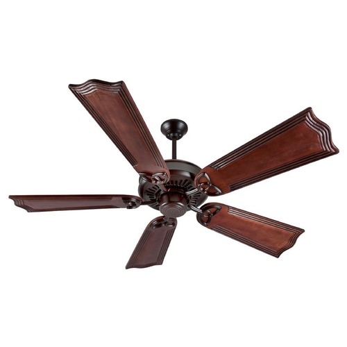 Craftmade Lighting Craftmade Lighting American Tradition Oiled Bronze Ceiling Fan Without Light K10840