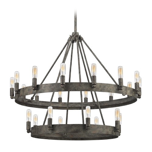 Elk Lighting Elk Lighting Lewisburg Malted Rust Chandelier 31823/8+14