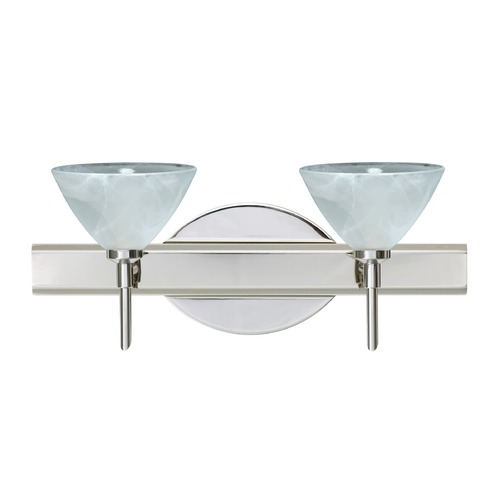 Besa Lighting Besa Lighting Domi Chrome LED Bathroom Light 2SW-174352-LED-CR