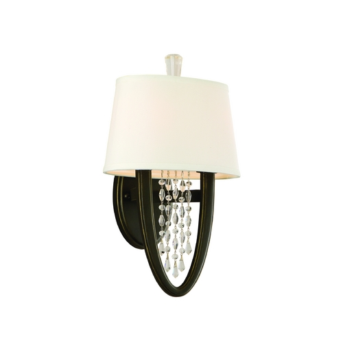 Corbett Lighting Corbett Lighting Viceroy Royal Bronze Sconce 130-12