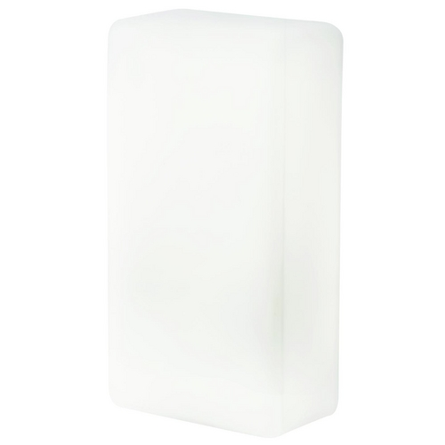 Access Lighting Outdoor Wall Light with White Glass 20450-OPL