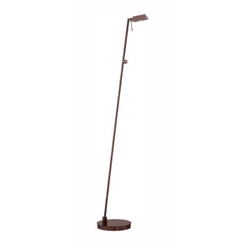 George Kovacs Lighting Modern LED Pharmacy Lamp in Chocolate Chrome Finish P4314-631