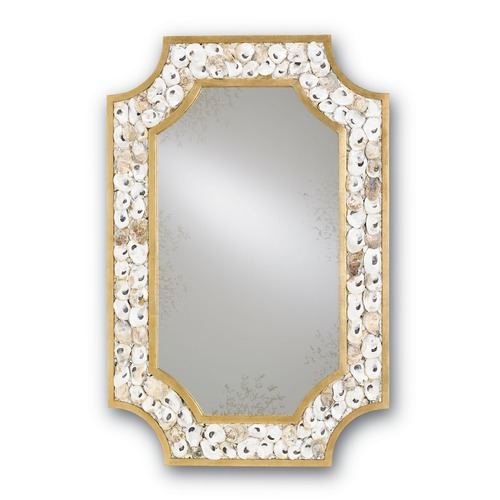 Currey and Company Lighting Margate Rectangle 30-Inch Mirror 1090