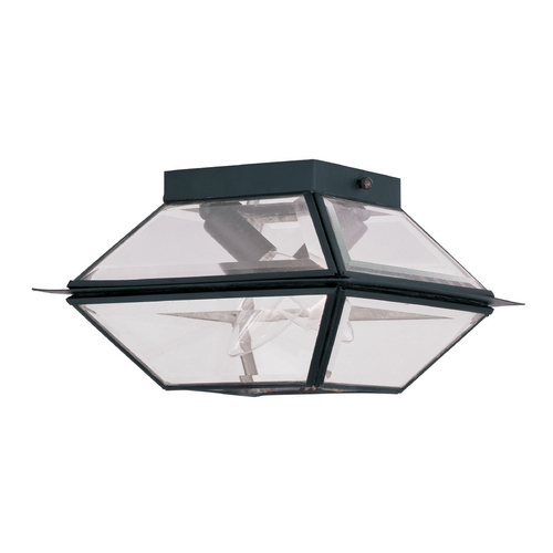 Livex Lighting Livex Lighting Westover Black Close To Ceiling Light 2184-04