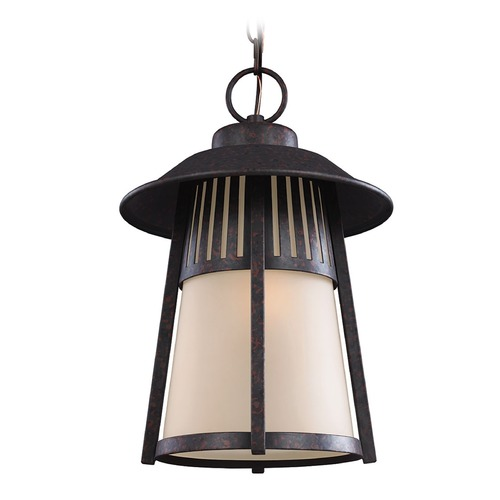 Sea Gull Lighting Sea Gull Lighting Hamilton Heights Oxford Bronze Outdoor Hanging Light 6211701-746