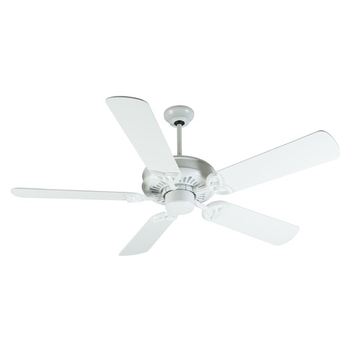 Craftmade Lighting Craftmade Lighting American Tradition White Ceiling Fan Without Light K10841
