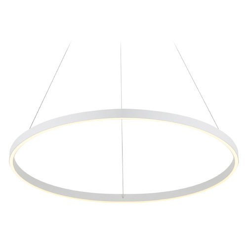 Kuzco Lighting Kuzco Lighting Cerchio White LED Pendant Light PD86132-WH