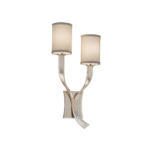 Corbett Lighting Corbett Lighting Roxy Modern Silver with S Sconce 158-12