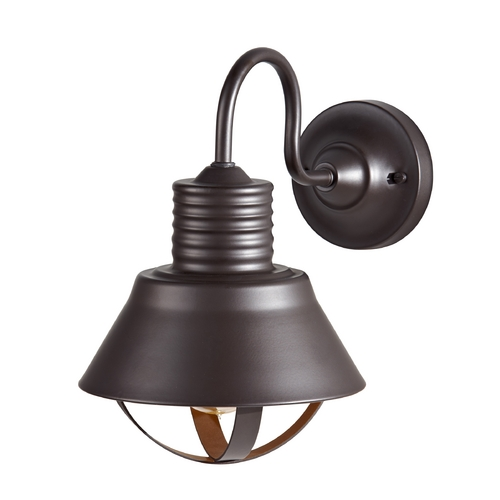 Feiss Lighting Outdoor Wall Light in Oil Rubbed Bronze Finish OL8801ORB