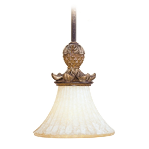 Livex Lighting Livex Lighting Savannah Venetian Patina Mini-Pendant Light with Bell Shade 8450-57