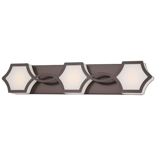 Minka Lavery Minka Vestige Bath Harvard Court Bronze LED Bathroom Light 2913-281-L