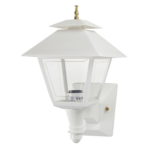 Wave Lighting Wave Lighting Marlex Colonial White Outdoor Wall Light 105