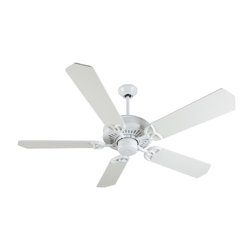 Craftmade Lighting Craftmade Lighting American Tradition White Ceiling Fan Without Light K10842