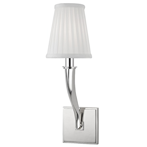 Hudson Valley Lighting Hildreth 1 Light Sconce - Polished Nickel 5121-PN
