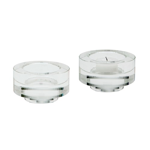 Dimond Lighting Fluted Crystal Votive -Set Of 2 980008/S2