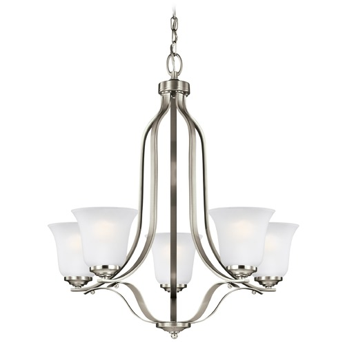 Sea Gull Lighting Sea Gull Lighting Emmons Brushed Nickel LED Chandelier 3139005EN3-962