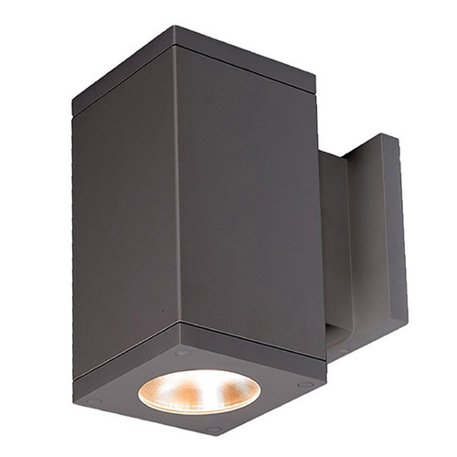 WAC Lighting Wac Lighting Cube Arch Graphite LED Outdoor Wall Light DC-WS06-F840S-GH