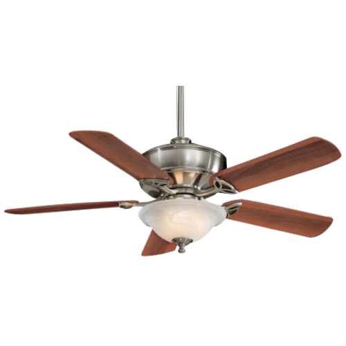 Minka Aire Fans 52-Inch Ceiling Fan with Five Blades and Light Kit F620-BN