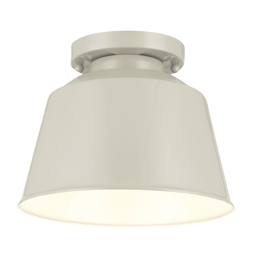 Feiss Lighting Feiss Lighting Freemont Hi Gloss Grey Flushmount Light SF314HGG