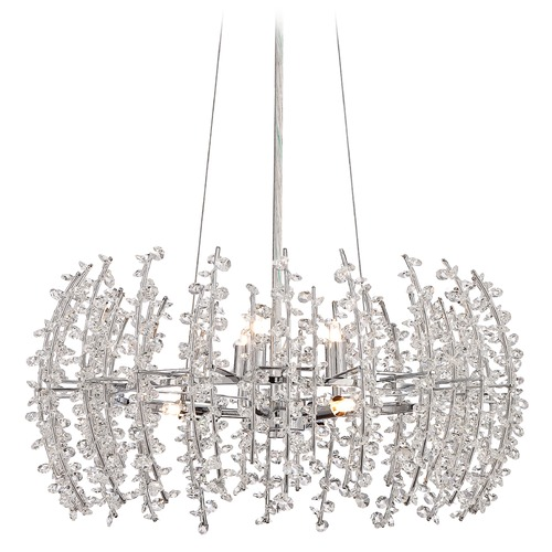 Quoizel Lighting Quoizel Valla Polished Chrome Pendant Light VLA2820C