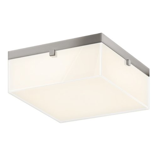 Sonneman Lighting Sonneman Lighting Parallel Satin Nickel LED Flushmount Light 3868.13LED