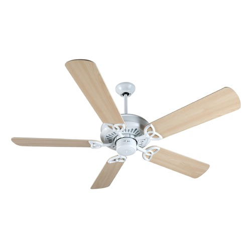 Craftmade Lighting Craftmade Lighting American Tradition White Ceiling Fan Without Light K10843