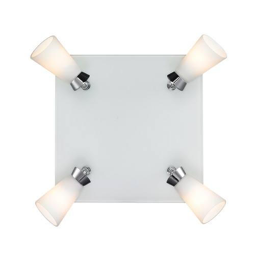 Golden Lighting Golden Lighting Opera Chrome Flushmount Light C024-F4-CH