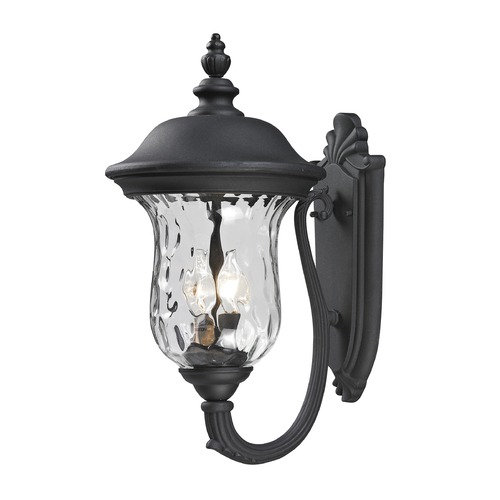 Z-Lite Z-Lite Armstrong Black Outdoor Wall Light 533M-BK