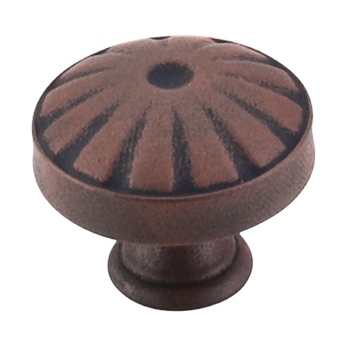 Top Knobs Hardware Cabinet Knob in Patina Rouge Finish M1222