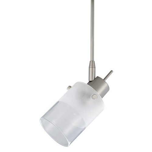 WAC Lighting Wac Lighting Brushed Nickel Track Light Head QF-182X3-BN