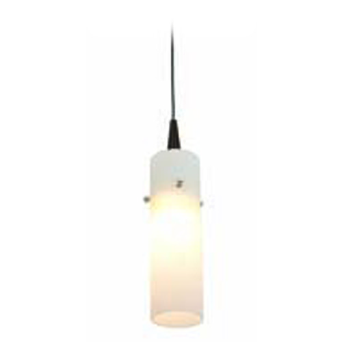 Access Lighting Access Lighting Tungsten Bronze LED Mini-Pendant Light with Cylindrical Shade 72932LED-BRZ/OPL