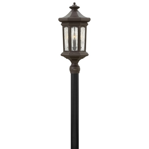 Hinkley Lighting Hinkley Lighting Raley Oil Rubbed Bronze Post Light 1601OZ