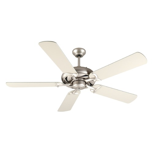 Craftmade Lighting Craftmade Lighting Civic Brushed Satin Nickel Ceiling Fan Without Light K10851